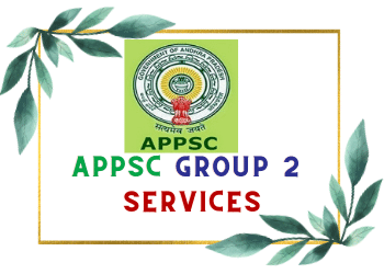 Appsc group 2 Services